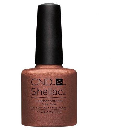 Гель-лак для ногтей CND Shellac Craft Culture, 7.3 мл, Leather Satchel недорого