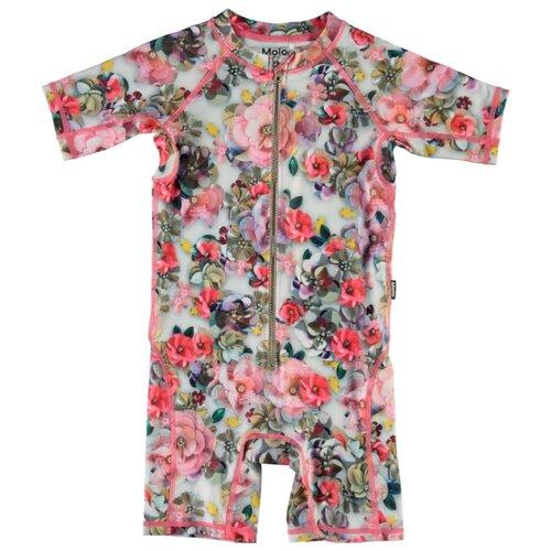 Купить Комбинезон купальный Molo размер 98-104, sequins flowers, Белье и купальники