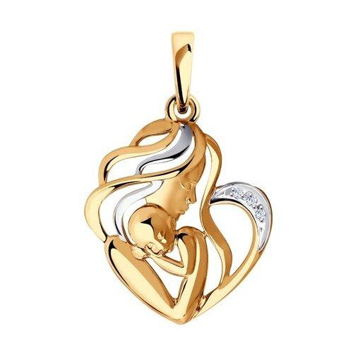 SOKOLOV Подвеска из золота с бриллиантами 1030788