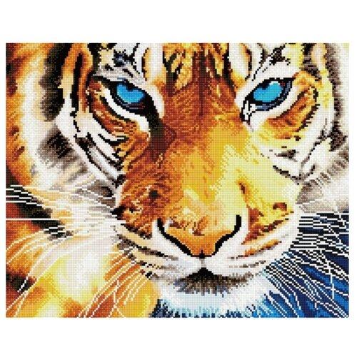 Купить Алмазная мозаика Paintboy GF 459 Взгляд тигра 40x50см, Алмазная вышивка
