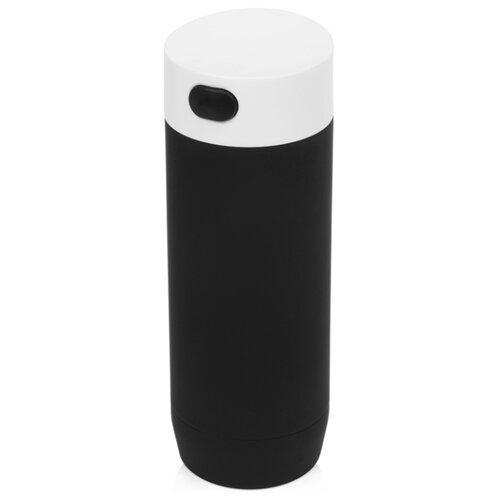 Термокружка акуумная «Recoil», черный/белый