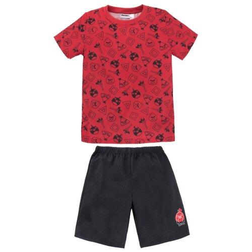 Купить Пижама Bossa Nova размер 110-116, красный/черный, Домашняя одежда
