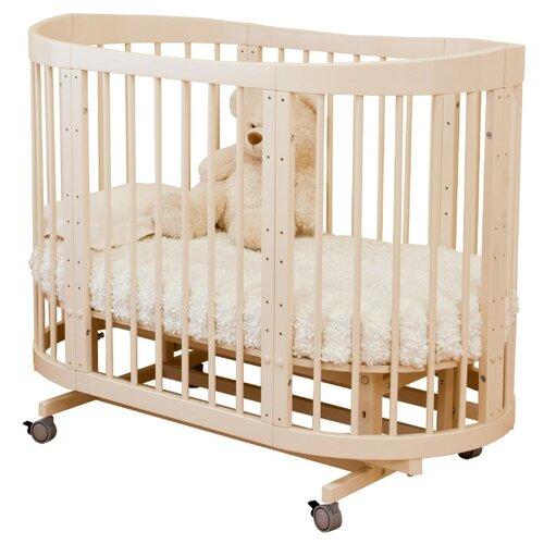 Купить Кроватка Красная Звезда Паулина-2 С422 (трансформер), продольный маятник слоновая кость, Кроватки