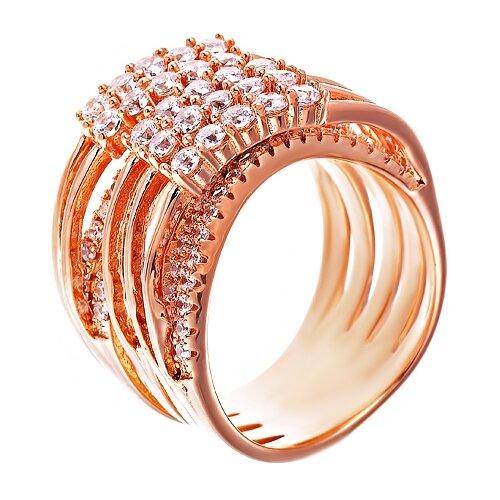 Фото - ELEMENT47 Широкое ювелирное кольцо из серебра 925 пробы с кубическим цирконием WR23934_KO_001_PINK, размер 18 element47 широкое ювелирное кольцо из серебра 925 пробы с кубическим цирконием 05s2azr104804curi 001 wg размер 18