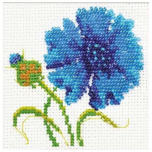 Купить Набор Василёк вышивка бисером 10х10 Риолис 1318 1318, Наборы для вышивания