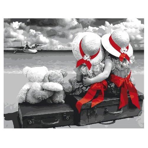 Купить ВанГогВоМне Картина по номерам Сестрички , 40х50 см (ZX 21928), Картины по номерам и контурам
