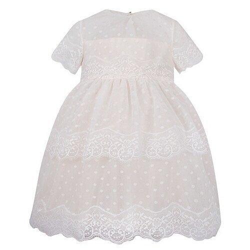 Платье Aletta размер 92, кремовый