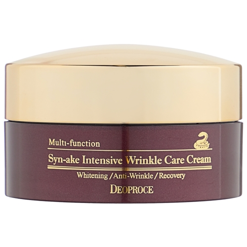 Deoproce Syn-Ake Intensive Wrinkle Care Cream Крем для лица со змеиным ядом