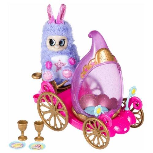 Мягкая игрушка Bush Baby World Пушастик Принцесса Старлена с каретой 18,5 см