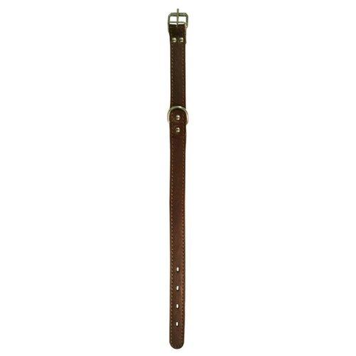 Ошейник ZOOexpress 0560 55-65 см коричневый