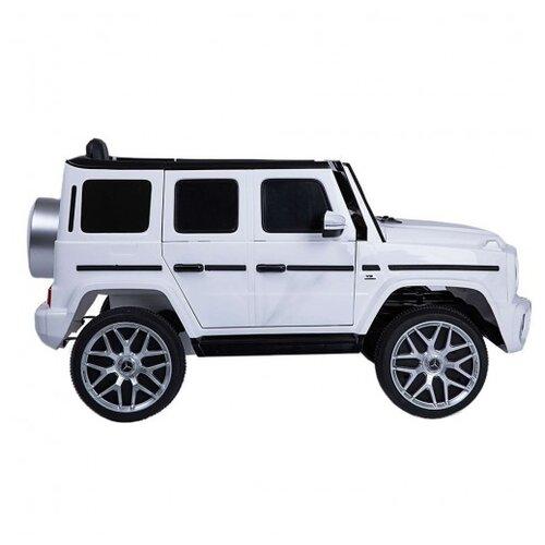 Купить RiverToys Автомобиль Mercedes-Benz G63 T999TT, white, Электромобили