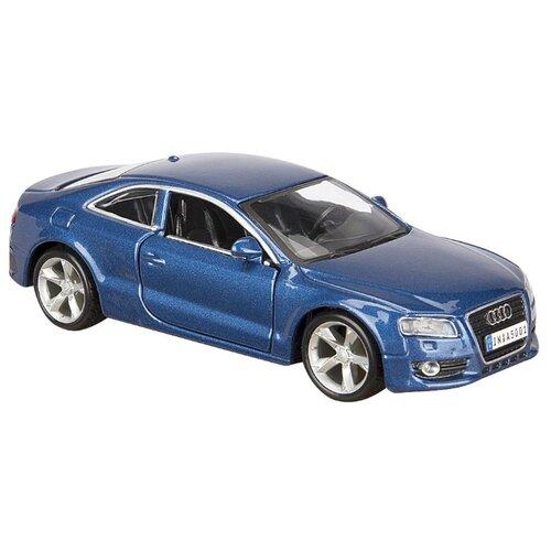 Купить Легковой автомобиль Bburago Street Fire Audi A5 (18-43000/10) 1:32 13.5 см синий металлик, Машинки и техника