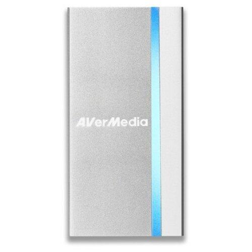 Купить Устройство видеозахвата AVerMedia Technologies ExtremeCap UVC BU110 серебристый