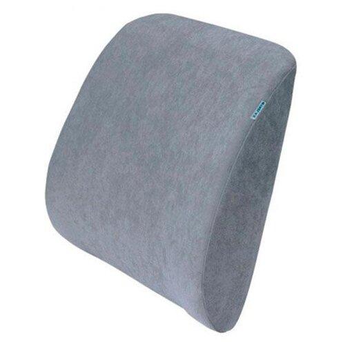 Подушка TRELAX ортопедическая под спину Spectra П04 33 х 37 см серый