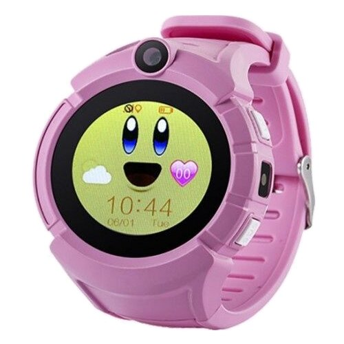 цена Часы Smart Baby Watch Q610 розовый онлайн в 2017 году