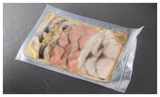 ВкусВилл Ассорти рыбное холодного копчения ломтики