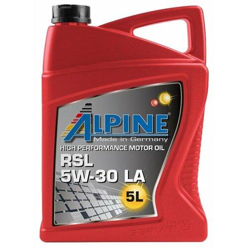 Синтетическое моторное масло ALPINE RSL 5W-30 LA, 5 л