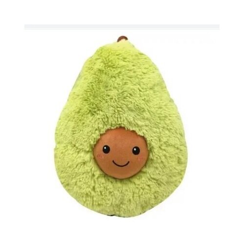 Мягкая игрушка Авокадо пушистый 60 см