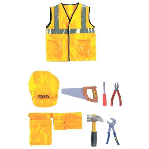 Купить Город Игр Костюм строителя с аксессуарами, 10 предметов, Детские наборы инструментов