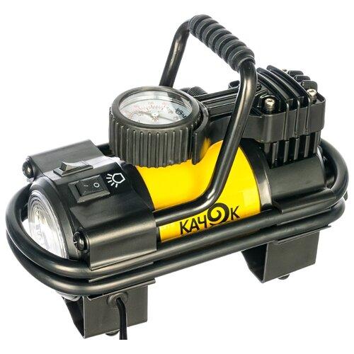цена на Автомобильный компрессор Качок K90 LED желтый