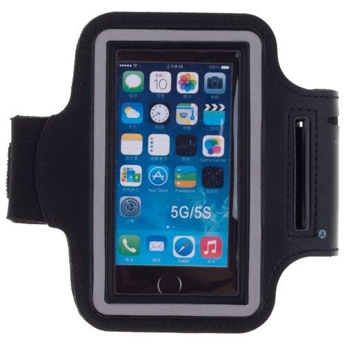 Чехол-книжка для телефона универсальный skinBOX. Sport case 4,5, цвет черный чехол для сотового телефона skinbox lux 4660041407143 черный