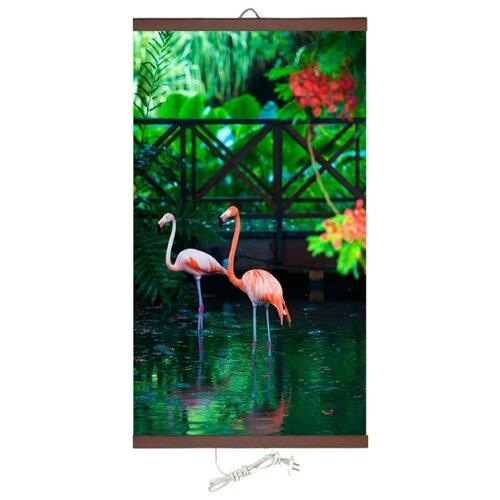 Инфракрасный плёночный обогреватель ТеплоКрыма Розовый фламинго ЭО 448/2 разноцветный