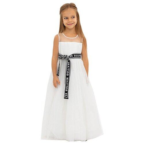 Платье Gulliver размер 98, белый