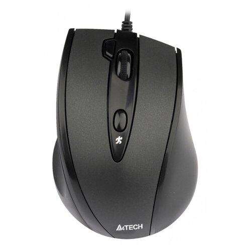 Мышь A4 V-Track Padless N-770FX черный оптическая (1600dpi) USB (5but) недорого