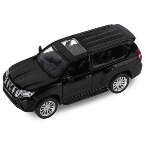 Купить Внедорожник Автопанорама Land Cruiser Prado (JB1251022/JB1251023) 1:43 11.4 см черный, Машинки и техника