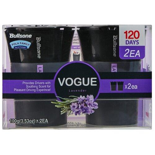 Bullsone Ароматизатор для автомобиля Vogue Lavender 2 шт 100 г