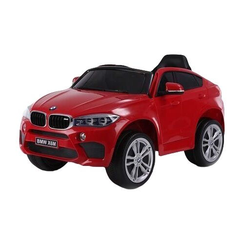 RiverToys Автомобиль BMW X6M JJ2199, вишневый глянец