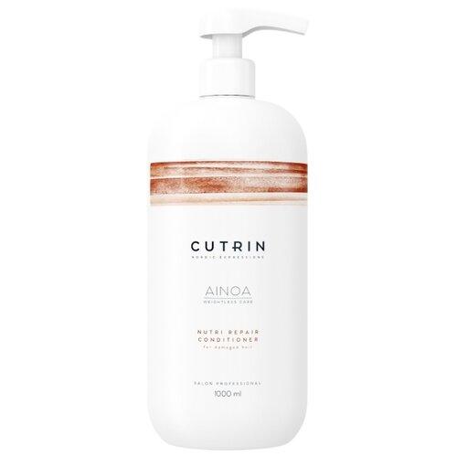 Cutrin кондиционер Ainoa Nutri Repair для восстановления волос, 1000 мл cutrin кондиционер ainoa body vitality 200 мл