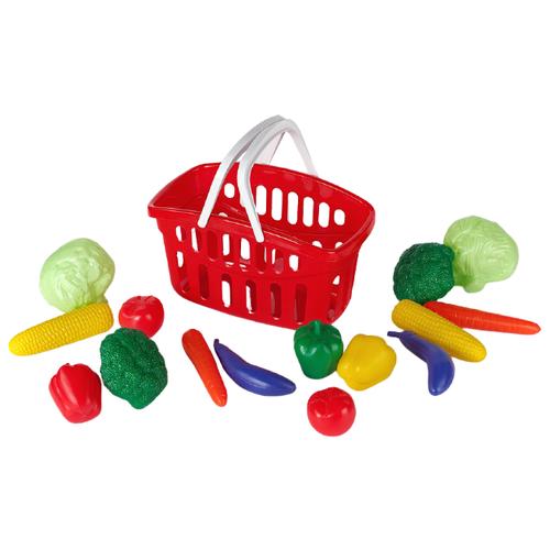 Купить Корзина для покупок Toys Plast ИП18001 / ИП18003, Играем в магазин