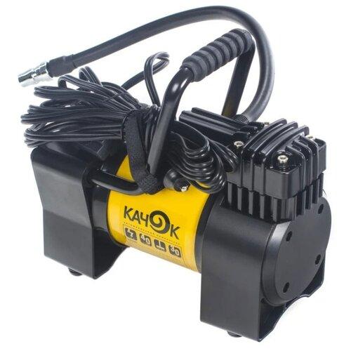 Автомобильный компрессор Качок К90N желтый