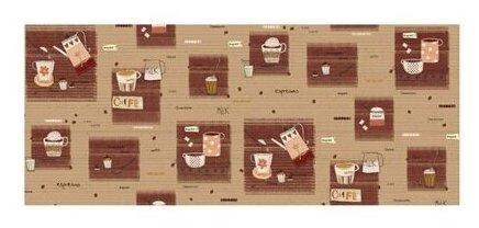 Ткань PePPY 4550 PANEL для пэчворка фасовка 60 x 142 см 135±5 г/кв.м Cafe