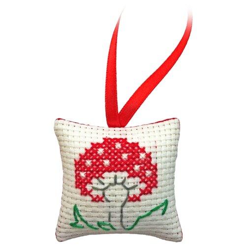 ZENGANA Набор для вышивания нитками Мухоморчик 5 х 5 см (М-014) блюдо chinbull рона 30 5 х 22 5 см page 2