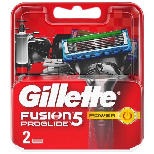 Сменные кассеты Gillette Fusion5 ProGlide Power, 2 шт. бритва proglide power 1 кас gillette