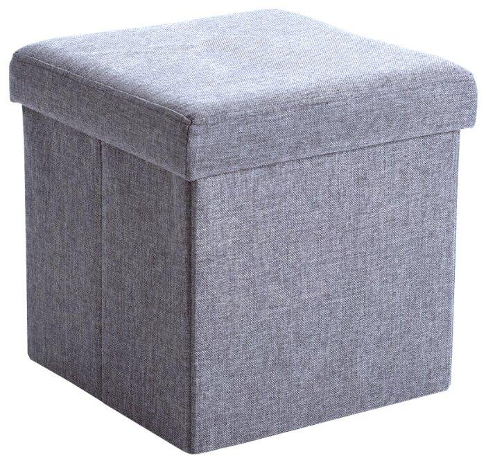 Купить Пуф Шарм-Дизайн раскладной Пикник светло-серый по низкой цене с доставкой из Яндекс.Маркета (бывший Беру)