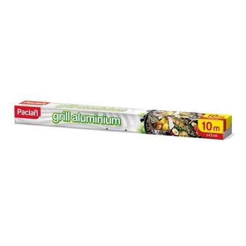 Фольга Paclan grill aluminium, 10 м х 45 см по цене 201