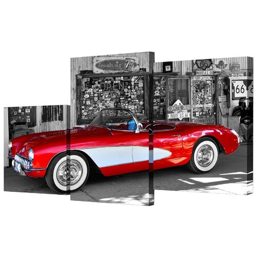 Модульная картина Toplight TL-MM1043 78х50 см картина бордовые тюльпаны трихтин модульная 2943431 125 х 73 см