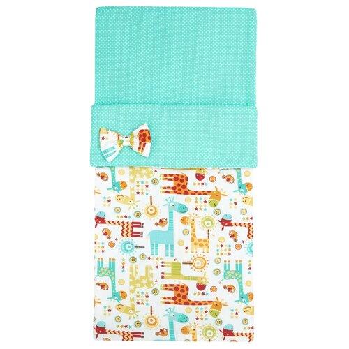Купить Спальный мешок детский Amarobaby Magic Sleep Жирафики, Конверты и спальные мешки