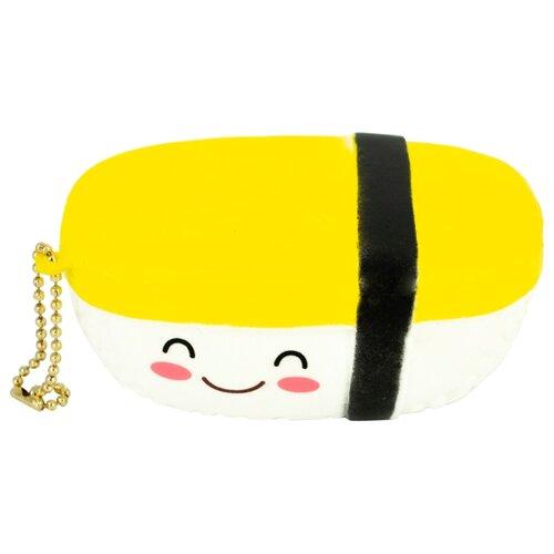 Игрушка-мялка Dolemikki Суши WJ0007 белый/желтый