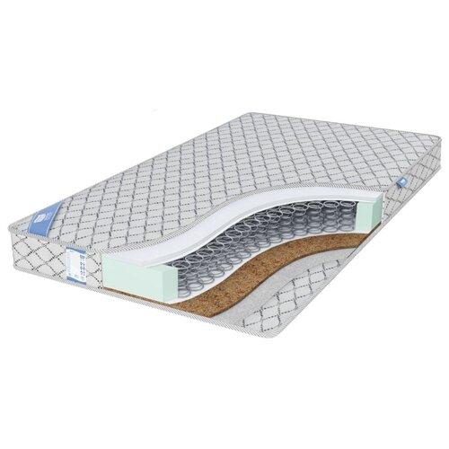 Матрас Промтекс-Ориент EcoRest Кокос Струтто 140x200 пружинный серебристый