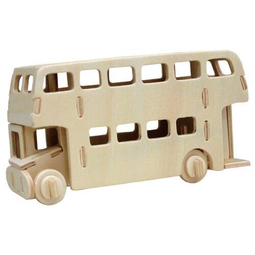 Купить Пазл REZARK 3D Автобус (ROT-010), 44 дет., Пазлы