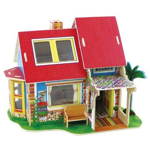 Купить 3D деревянный пазл Вилла мечты Кухонный дом с мебелью, Robotime, Сборные модели