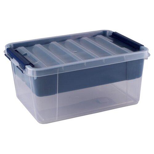 ПОЛИМЕРБЫТ Ящик с вкладышем Профи 41х29,5х18,3 см синий