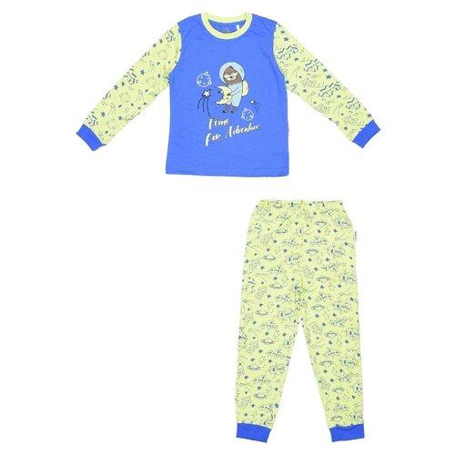 Купить Пижама RuZ Kids размер 122-128, ланжверт/лайм, Домашняя одежда