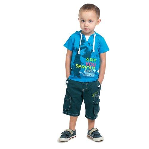 Шорты V-Baby V-48 (48-016) размер 92, синий