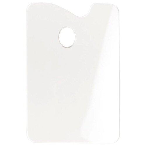 Палитра из оргстекла, прямоугольная, 20x30 см