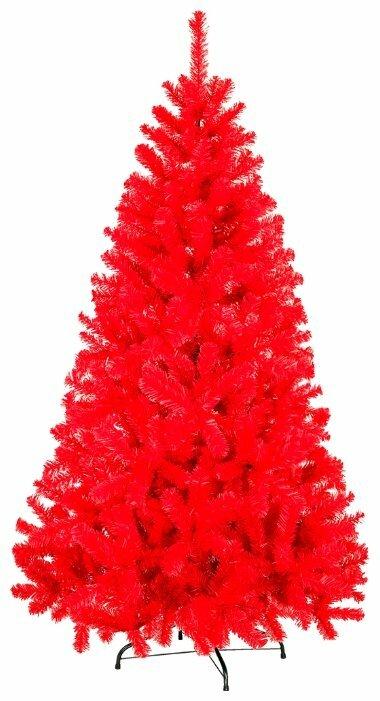 Kaemingk, Искусственная елочка 30 см с набором елочных игрушек (30 шт.) в красных тонах 683370